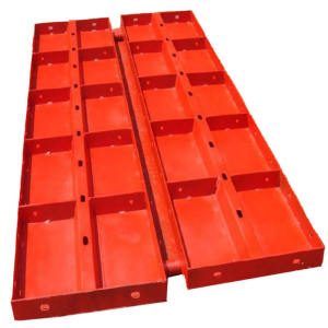 High Quality Building Material Flat Steel Columns Mould Concrete Wall Formwork
