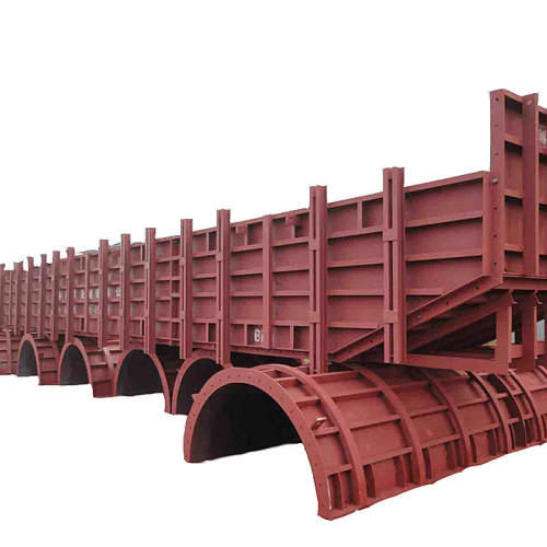 Circular formwork reusable wall slab adjustable steel column formwork for concrete