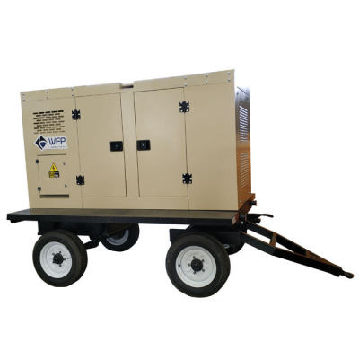 40kva 30kw portable diesel electric generator set for cold storage