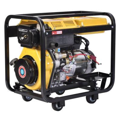 Low price 5.5kw/7kva portable home open diesel generator price