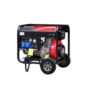 10KW Electric Starting Single Phase Open Type Diesel Generator