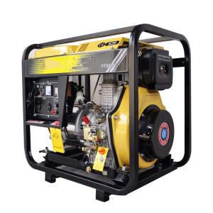 Diesel generator 7.5Kva portable home open diesel engine generator