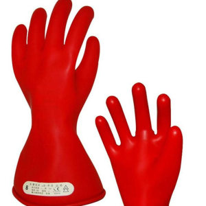 10KV Insulated Safety 20KV Electrical Rubber Insulating Gloves