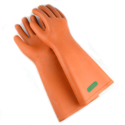 Insulated safety gloves for electrician
