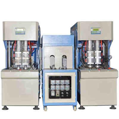 Semi Automatic Pet Water Plastic Bottle Blowing Machine