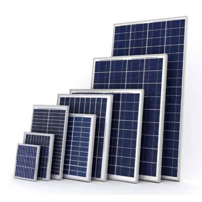 Solar Panel Mono 12V/18V/24V 35W- 390W For Solar System 25 Years Life Span Factory Wholesale