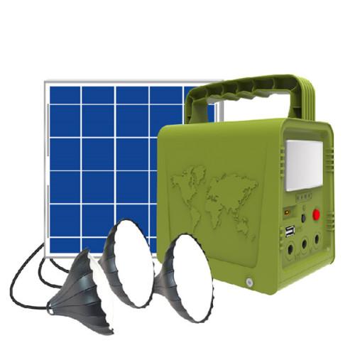 Mini solar system Solar home System 5W Small portable solar lighting system