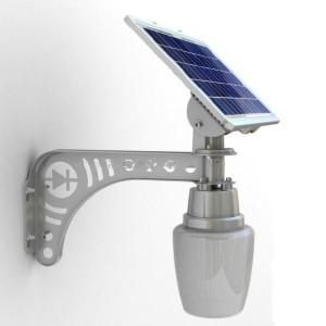 Solar garden light solar led wall light