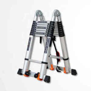 EN131 Standard Multifunctional Aluminum Telescopic Step Ladder