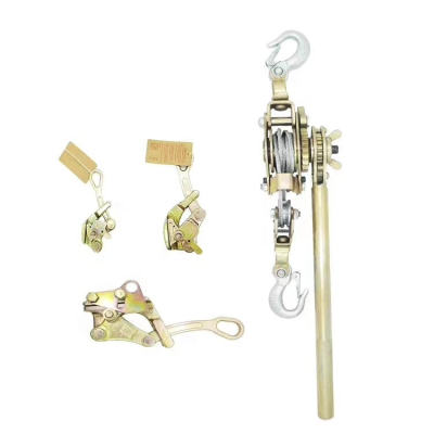 Hot Sale Wire Rope Hand Rachet Puller for Electric Power Project