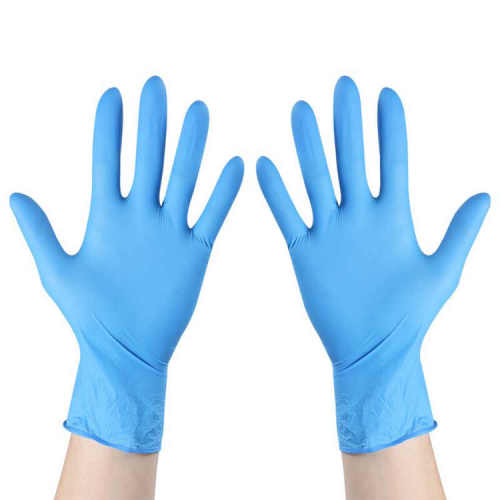 Med care medical protection nitrile gloves
