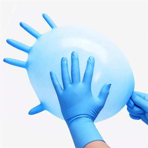 Anti-Slip Water Proof Safety Gloves Working Nitrile Gloves Thailand Gloves Nitrile Medicical