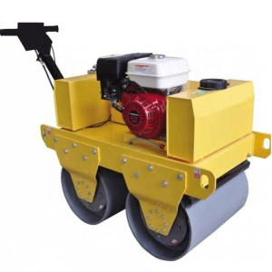 Mini road paver roller paving machine