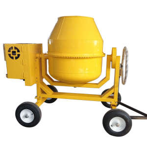 400L 4 Wheel Diesel engine concrete mixer