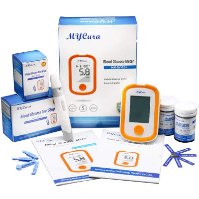 Factory Price Accurate Blood Glucose Meter Kit for Diabetes Testing