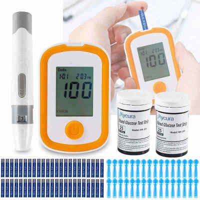On Sale Professional Blood Glucose Meter Blood Glucose Monitor with Free Lancets and Strips