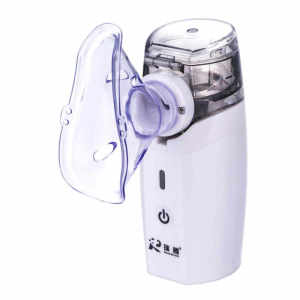 Mini portable compact spacer inhaler atomizer handheld asthma mesh medical nebulizer