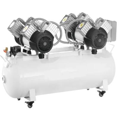 Dental Medical Lab Oilless Silence Portable Air Compressor for Cadcam