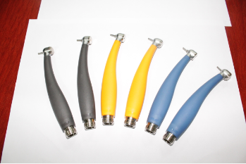 Colorful Push Button 2 Hole or 4 Holes Electric Turbine High Speed Dental Handpiece