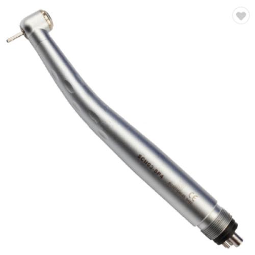 High speed dental handpiece three way spray push type