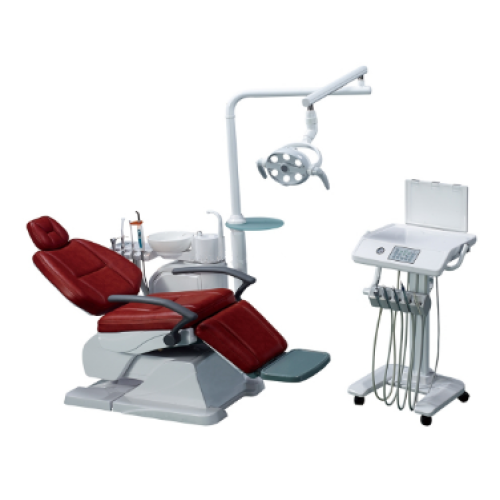 Top grade Dental Chair best quality dental unit With LED sensor lamp light cure and scaler