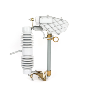 High voltage outdoor expulsion dropout fuse cutout with arc breaker