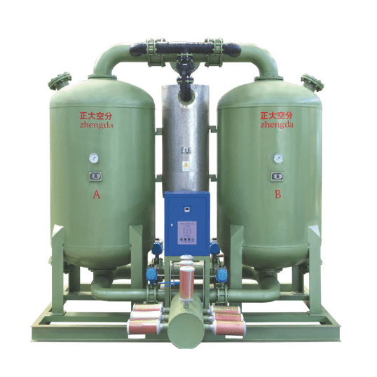 Micro-heat Adsorption Dryer-ZHD Series   Compressed Air Purification