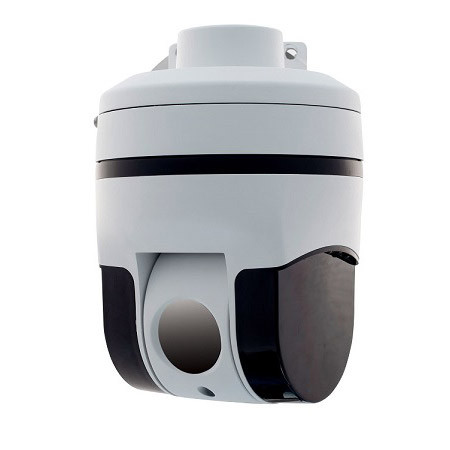 Outdoor Analogue Speed Dome Thermal Camera Q625