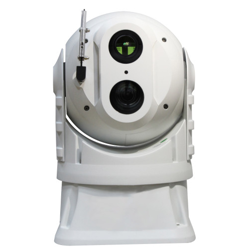 Dome thermal camera Giro-stabilized two lights camera C640