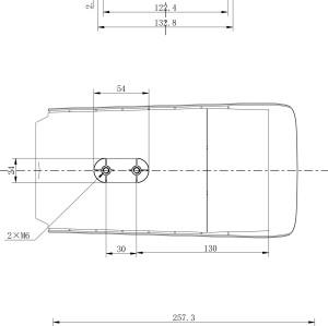 كاميرا حرارية قصيرة - متوسطة المدى خارجية IP Bullet