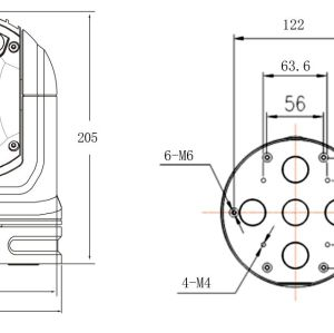Sistema de doble espectro gran angular: cámara térmica para vehículos