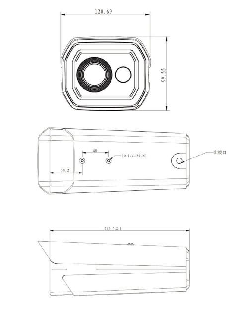 Mini wifi network smart bullet camera