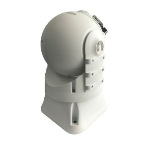 Dome serveillance camera Giro-stabilized Shipborne double spectrum system