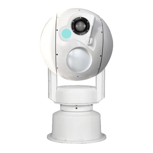 Dome serveillance camera long range PTZ camera two lights