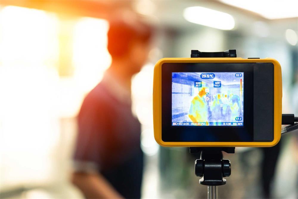 مبدأ قياس درجة الحرارة لكاميرات التصوير الحراري بالأشعة تحت الحمراء