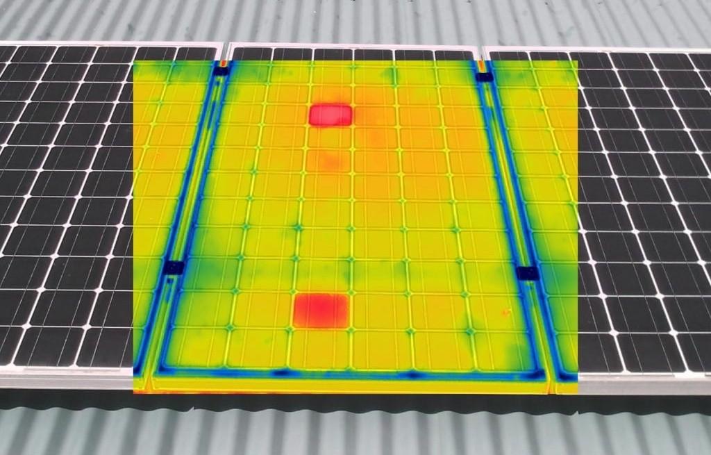 مبدأ العمل والاحتياطات لاستخدام كاميرا التصوير الحراري بالأشعة تحت الحمراء للكشف عن الألواح الشمسية