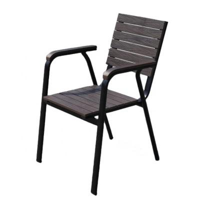 Wholesale Modern Stackable Outdoor WPC Garden Chair(YF-SMC204)