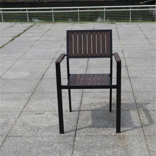 Wholesale Modern Outdoor WPC Garden Chair(YF-SMC206)