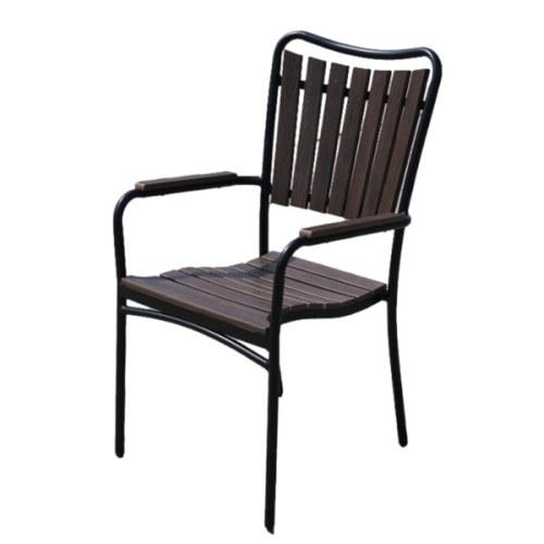 Wholesale Stackable Outdoor WPC Garden Chair(YF-SMC207)