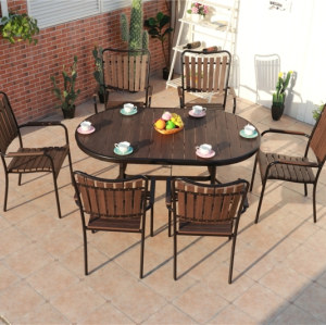 Wholesale Outdoor WPC Garden Table(YF-SMT201)