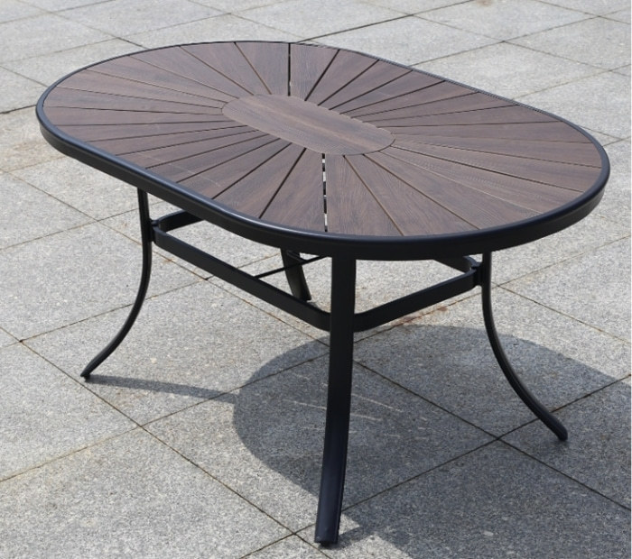 Wholesale Outdoor Courtyard WPC Garden Dining Table(YF-SMT202)