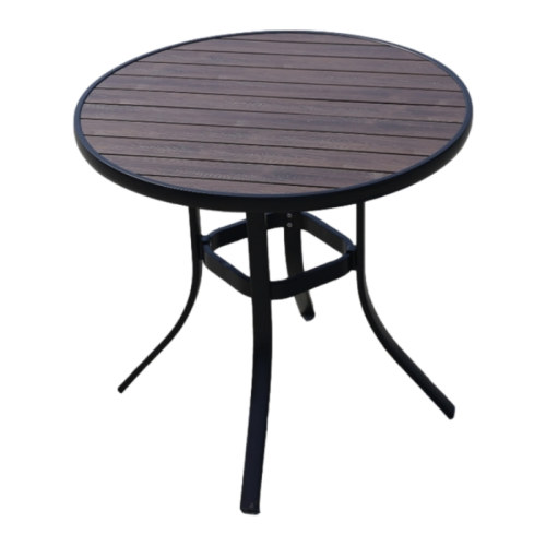 Wholesale Morden Round WPC Garden Dining Table(YF-SMT204)