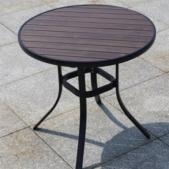 Wholesale Morden Outdoor Round WPC Garden Table(YF-SMT204)