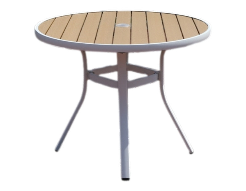 Wholesale Morden Outdoor Round WPC Garden Table(YF-SMT208)