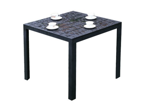 Wholesale Morden Outdoor WPC Garden Sets with 1 table and 4 chairs (YF-SMC209 YF-SMT226)