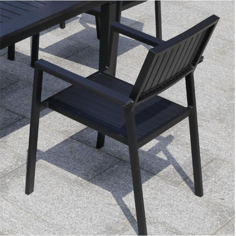Wholesale Modern Outdoor WPC Garden Chair(YF-SMC209)
