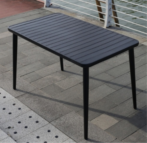Wholesale Outdoor Rectangle WPC Garden Dining Table(YF-SMT213)
