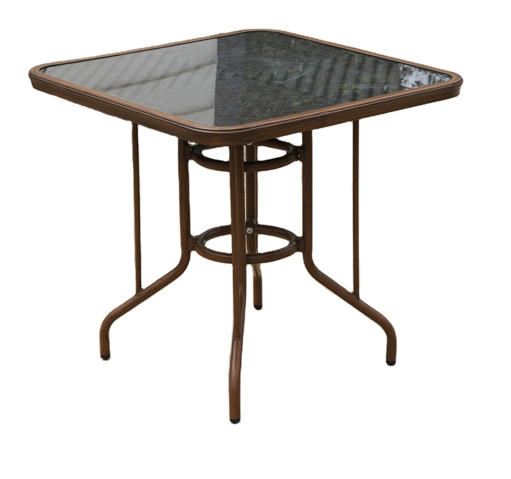 Wholesale Rattan Patio Rectangle Dining Table(HW103)