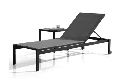 Wholesale aluminum outdoor sun lounger(YF-SF702)