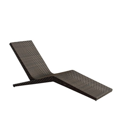 Wholesale rattan outdoor sun lounger with side table(YF-BT409)